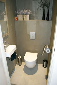 1000 images about idee n voor toilet on pinterest toilets planks and google - Deco toilet ontwerp ...