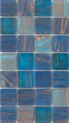 Academy Tiles - Glass Mosaic - Aqua Blends Collection - Bisazza - 17924