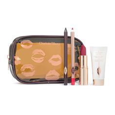 The ultimate grab 'n' go, quick 'n' easy makeup kit for an effortless evening look. Enhance what nature naturally gave you in 5 minutes flat!  This is finger-...
