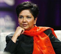 Indra Nooyi  directrice générale et présidente du groupe PepsiCo