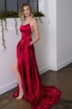 d34fa76cf6a4c Long Prom Dress With slit Fashion Winter Formal Dress Popular Party Dress  LP398