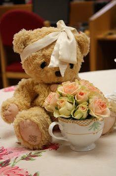 ♥•✿•♥•✿ڿڰۣ•♥•✿•♥  teddy bears and tea parties shower idea❤❤  ♥•✿•♥•✿ڿڰۣ•♥•✿•♥