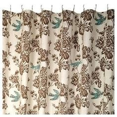 Floral Toile Print Shower Curtain : Target Review | Buy, Shop With Friends,  Sale
