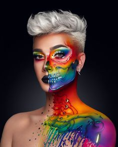 creative bubble makeupjames charles  artistry makeup