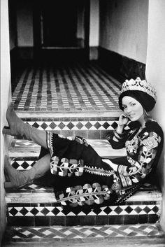 La leçon de style de Talitha Getty à Marrakech - Talitha Getty style