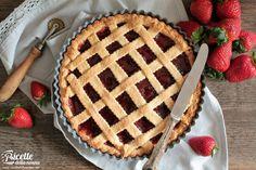 Crostata alla marmellata ricetta e foto Cata, Apple Pie, Cooking, Desserts, Recipes, Sweet Recipes, Bakken, Kitchen, Tailgate Desserts
