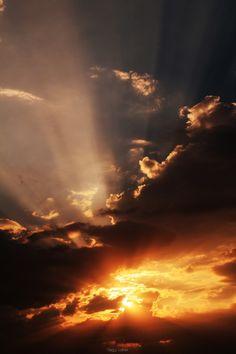 """Explosive sunset"" by Nagy Lehel on 500px"