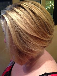 Beautiful A-line Hair by Julie Highlights Hair Studio