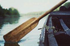 oar, lake