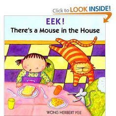 Eek! There's A Mouse In The House (Turtleback School & Library Binding Edition) @Meatheadsburger #meatheadsread