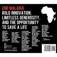 This book is one of my favorites this year let alone it's contribution to fighting Malaria.