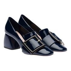 Miu Miu - Pumps - Royal Blue+Black - United States - 5I128A_3ALN_F014T_F_B065