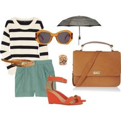 summer outfit. I think I have most of these pieces to make this work :)
