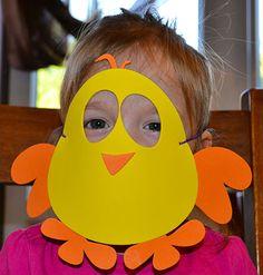 Make your own #Easter Masks #kids #crafts