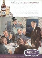 Kinsey Blended Whiskey 1944 Ad Picture
