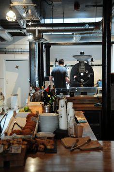 St. Ali, London (featuring the Slayer espresso machine)