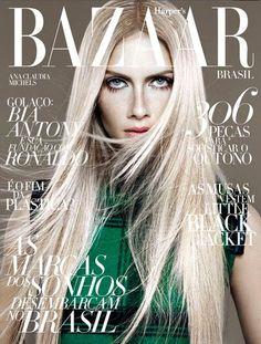 Ana Claudia Michels na capa da Harper's Bazaar Brasil