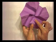 How to make a Kawasaki Origami Rose