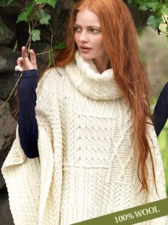 FOUR DAYS ONLY! Take up to 50% off best-selling authentic Irish knitwear.