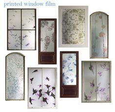 Interesting. Trove's printed window film, available in either bamboo or rice paper textures, provides an innovative alternative to window treatments. It can be applied to windows, glass doors, shower doors, glass partitions, cabinetry and more.
