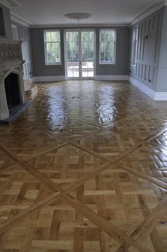 Classic parquet flooring company is specialist in Parquet flooring in herringbone, throughout the UK. We also provide Parquet Flooring Installers. Hallway Flooring, Parquet Flooring, Hardwood Floors, Flooring Ideas, 1930s House, Floor Design, Versailles, Home Decor Inspiration, Home Projects
