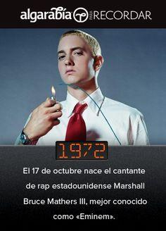 El dato de hoy en @pa_recordar es sobre Eminem: