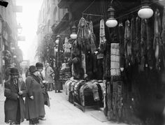 Berwick Street Market, Photograph: (1929).