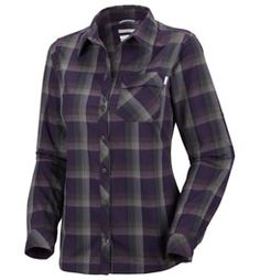 Columbia Sportswear Saturday Trail Plaid Long Sleeve Shirt - Women's, 74800 | Women's Shirts & Tops | Women | CLOTHING | items from Campmor.