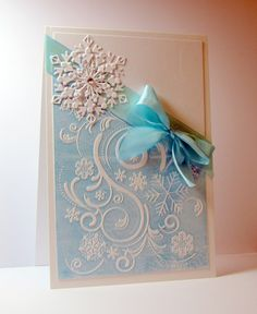 See this #tutorial for you to create this Christmas card with the Sara Signature Contemporary Christmas collection. #crafterscompanion
