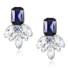 Generous 2018 New Fashion Multi-color Bow Garland Stud Earrings Cute Crystal Earrings For Women Small Jewelry Christmas Gift Bijoux Stud Earrings