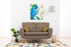 Canapea Fixa 2 locuri Malva Beige #homedecor #interiordesign #inspiration #brown #decor #house #livingroom #nordic #style #scandinavian Floor Chair, Scandinavian, Flooring, Living Room, Interior Design, Retro, Table, Brown Decor, House