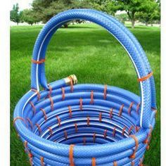 repurposed garden hose