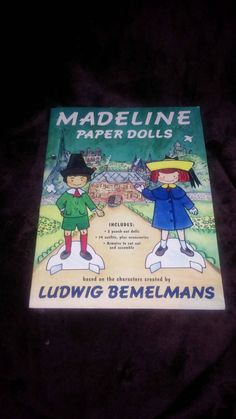 Check out this item in my Etsy shop https://www.etsy.com/listing/218713986/madeline-paper-dolls-book-1994