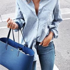 minimal outfit with jeans