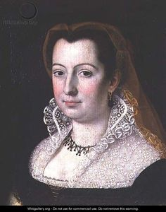 Portrait of a Lady - Scipione Pulzone  Love the partlet she is wearing.