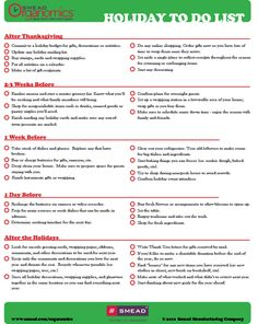 High Quality Checklist: Holiday To Do List And Christmas Preparation Checklist