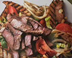 Steak au Poivre Salad from Episode 7: Gluten-Free Home