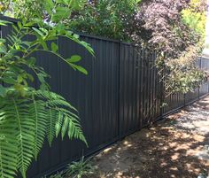 COLORBOND® is a durable, attractive and portable fence material. Select from range of contemporary Colorbond colours and speak to fencing experts to find out the most ideal for your property. Fence Paint Colours, Paint Colors, Portable Fence, Metal Fence Panels, Outdoor Rooms, Outdoor Decor, Fencing Material, Fences, Backyard Ideas