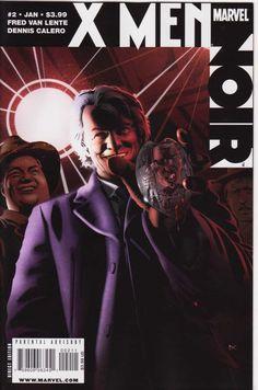 X-Men Noir (of - Marvel Comics X Men, Marvel Dc, Marvel Comics, Cassandra Nova, Comic Art, Comic Books, Luke Cage, Find Someone Who, Punisher