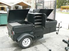 Commercial Party Barbecue Grill Smoker Combo