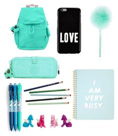"""""""Back to school Greenish"""" by eloahcamarao ❤ liked on Polyvore featuring Kipling, Givenchy, Miss Selfridge and Vera Bradley"""