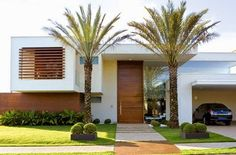 Casas e fachadas com brises, ou brise-soleil