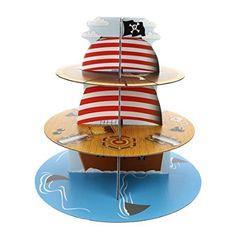 Culpitt - Alzata Cupcake Nave Pirata: Amazon.it: Casa e cucina