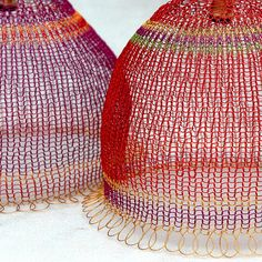 wire lampshades by YooLaDesign of flickr