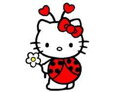 Más dibujos para colorear de Hello Kitty