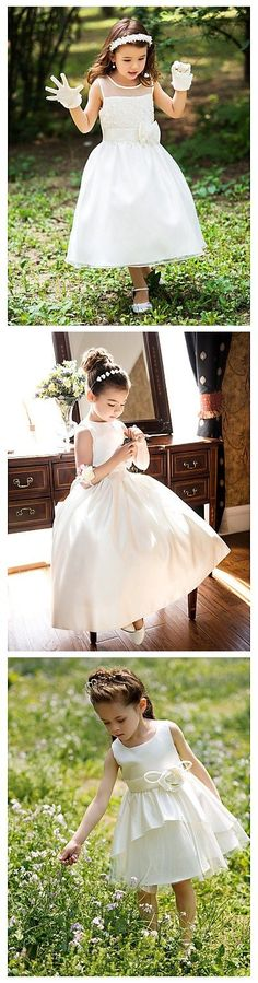 """Extremely cute little dresses for your flowery girl!  Use the coupon code """"PTL11010"""" to get a better deal!"""