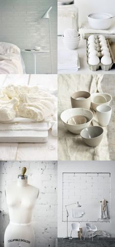 et encore du blanc. Eco Homes, White Books, White Cottage, Home Food, Cottage Ideas, Shabby Chic Style, Natural Living, White White, House Rooms