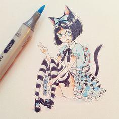 I wanted bugged Alice dresses uhu XD