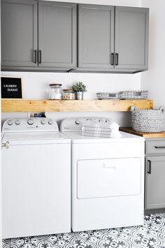 Beautiful laundry room tile pattern ideas (25)