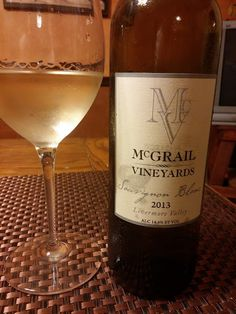 A little sauvignon blanc to go with my Thai chicken curry.
